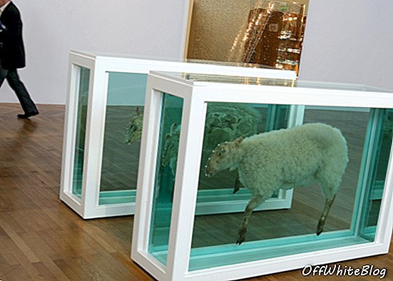 Verslag: Damien Hirst Art Leaks Deadly Gas