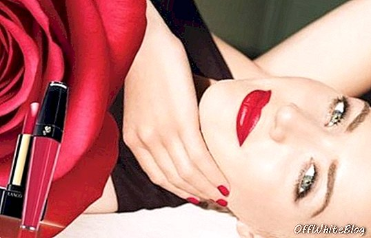 Kate Winslet Goes Nude in Lancome Lipstick Ad