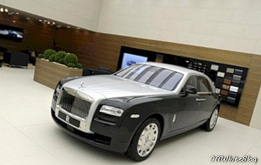 gulungan royce two tone ghost geneva