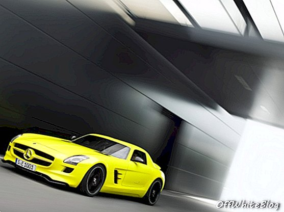 Mercedes-Benz onthult SLS AMG E-Cell