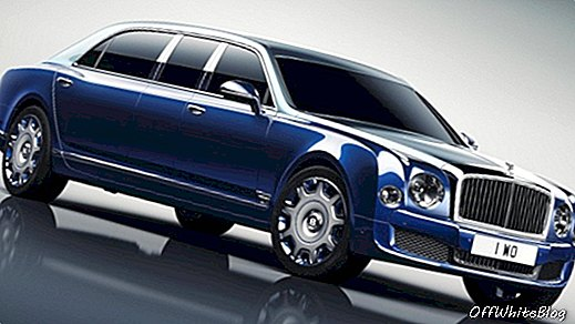 Long Rider: Bentley Mulsanne Grand Limo av Mulliner