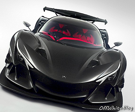Intensa Emozione: vodeći hiper automobil Apollo IE