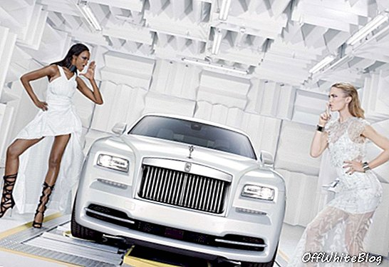 Rolls-Royce introduceert 'Wraith - Inspired by Fashion'