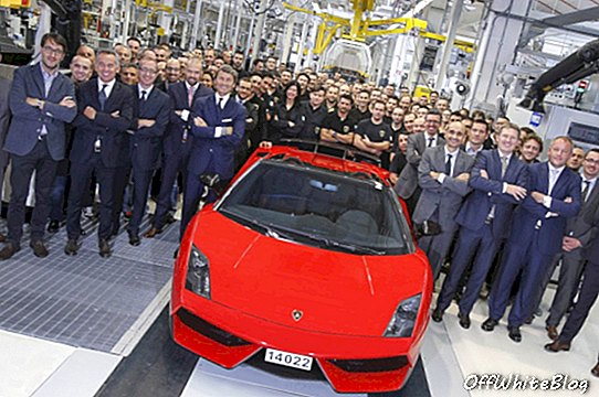 O fim do Lamborghini Gallardo