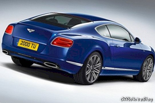 2013 Bentley Continental GT Speed ​​natrag