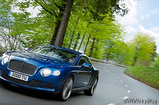Brzina Bentley Continental GT-a