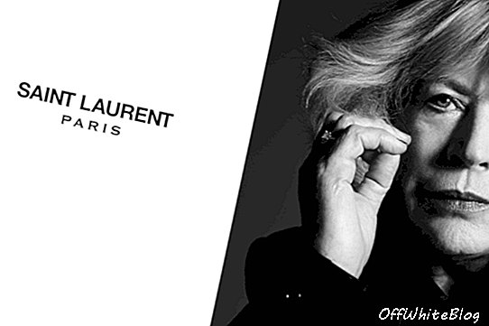 Marianne Faithfull pozuoja Saint Laurent'ui