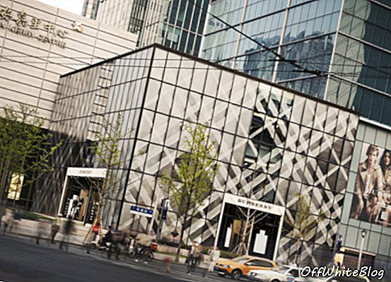 Burberry opent Flagship Store in Shanghai