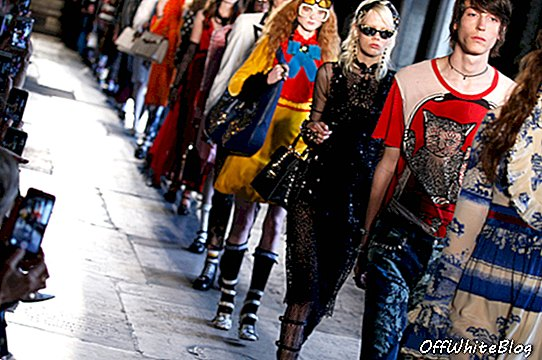 Gucci Cruise in Westminster Abbey
