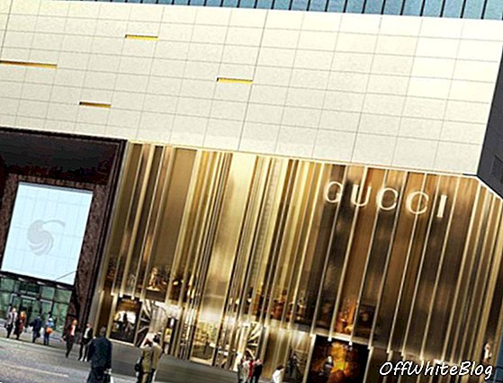 Gucci opent Sleek Flagship Store in Shanghai