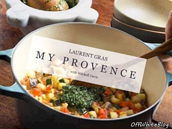 Laurent Gras My Provence كتاب الطبخ