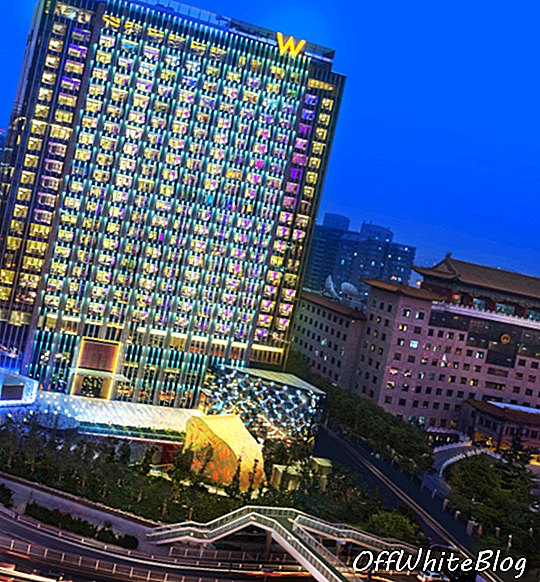 W Hotel opent in Beijing, China