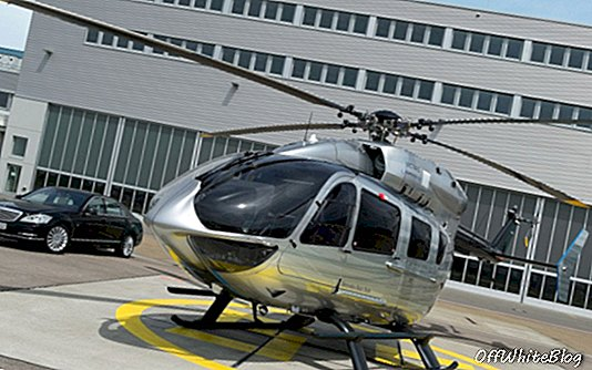 Mercedes Benz Helicopter onthuld