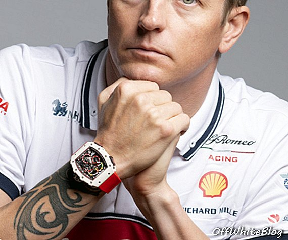 RM 50-04 Tourbillon Split-Seconds Chronograph Kimi Räikkönen F1 Race لاول مرة