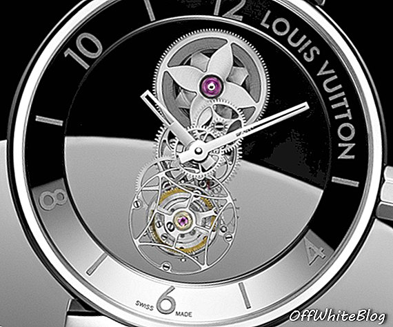 Nuevo Louis Vuitton Tambour Moon Mysterieuse Flying Tourbillon