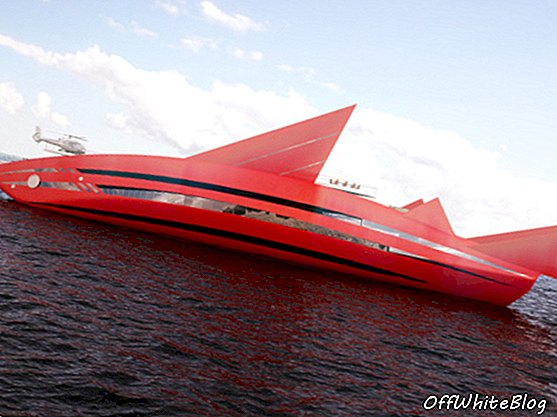 Red Shark Yacht