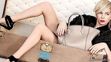 Michelle Williams regresa en la nueva campaña de Louis Vuitton - accesorios