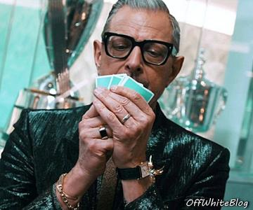 Jeff Goldblum Unleashed in The Tiffany Men's Pop-Up Shop op NYC 57th Street - accessoires