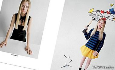 Lottie Moss for Red Valentino - mote