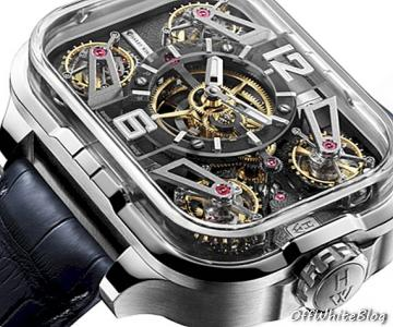 Make It Four - Harry Winston Histoire de Tourbillon 10 - stijl