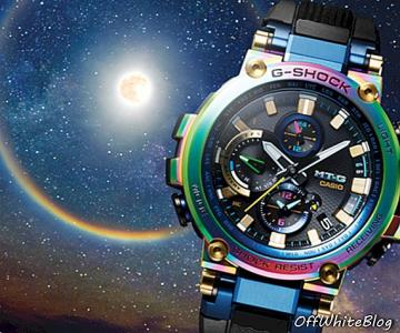 """Lunar Rainbow"" - ""Casio MTG-B1000RB"" - stiliaus"